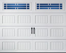 Oak Summit Steel Garage Doors
