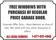 Free Window with Door Offer