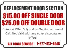 Replacement Door Section