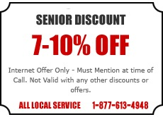 Senior Discount Offers