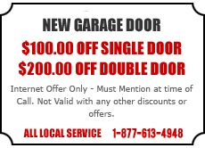 New Garage Door Offer