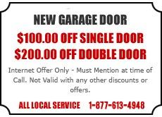 New Garage Door Offer