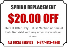Spring Replacement Offer